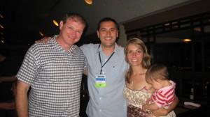 Dreama & I with Richard Stocks, Gwinett County Local Rep